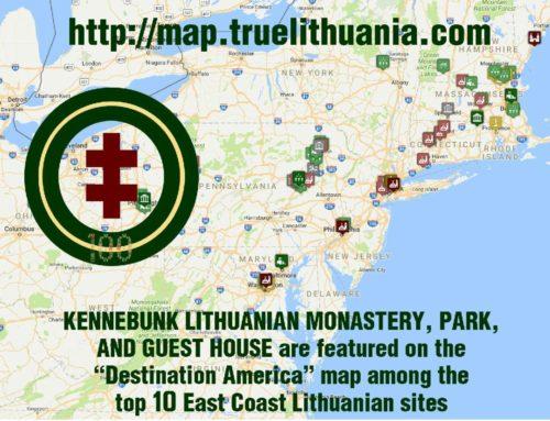 Kenebunko vienuolynas – tarp 10 svarbiausių lietuviškų vietų JAV rytinėje pakrantėje