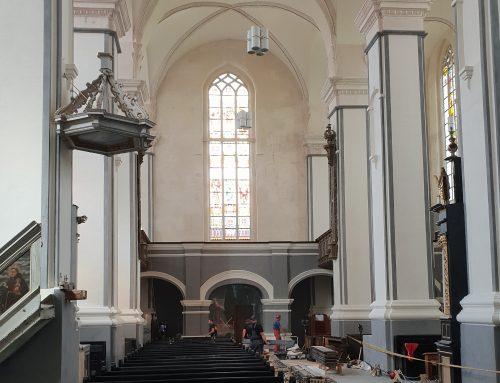 Šv. Jurgio bažnyčia pasitiks popiežių atsinaujinusi