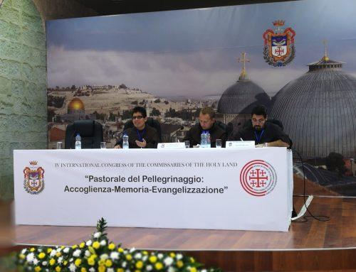 Video reportažas iš tarptautinio Šventosios Žemės komisarų kongreso