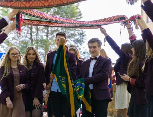 Pranciškonų gimnazijoje vyko Paskutinio skambučio šventė