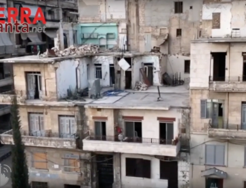 Sirijos mieste Alepe karas vis dar tęsiasi