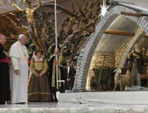 Popiežiaus Pranciškaus apaštališkasis laiškas apie Kalėdų prakartėlės prasmę bei vertę