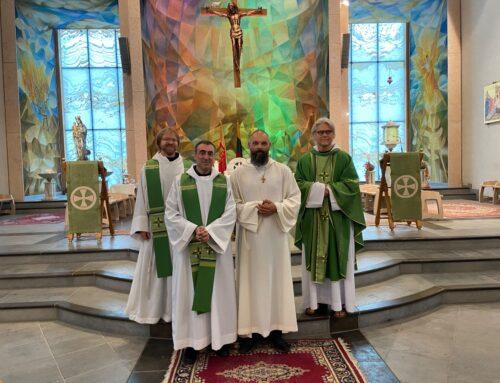 Džiaugiamės postulantu Algirdu
